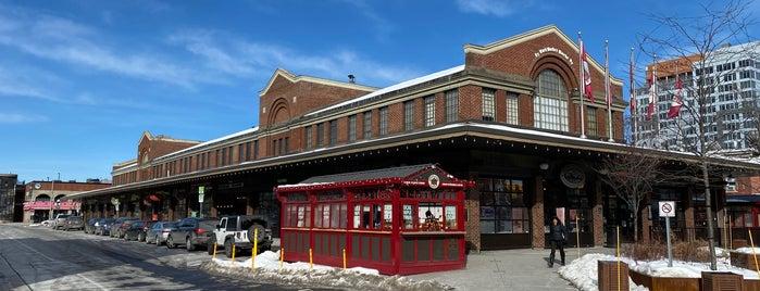 Byward Market is one of สถานที่ที่ Ethan ถูกใจ.