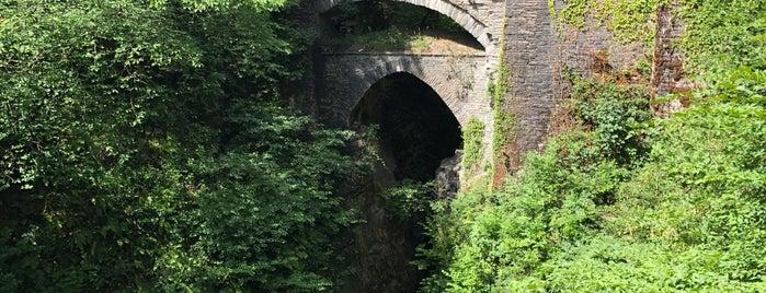 Devil's Bridge is one of Wales.