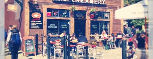 The Creamery is one of SF Coffee.