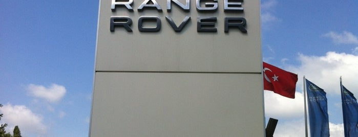 Borusan Oto Istinye Land Rover Servis is one of Hghさんのお気に入りスポット.