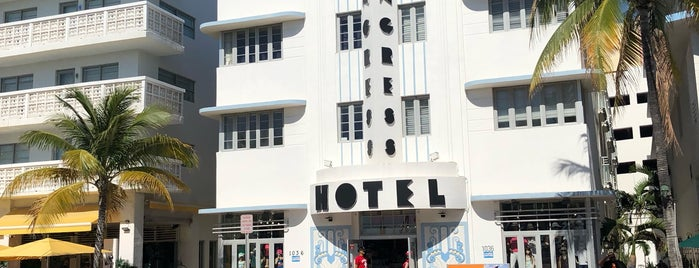 Congress Hotel South Beach is one of Welcome to Miami.