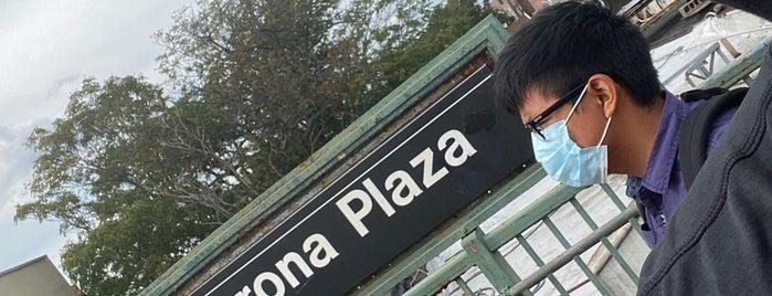 MTA Subway - 103rd St/Corona Plaza (7) is one of Tempat yang Disukai Jhonathan.