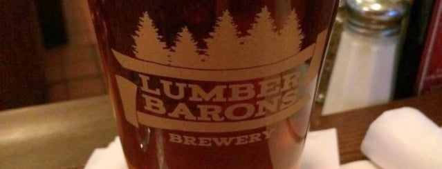 Lumber Barons Brewery is one of Michigan Breweries.