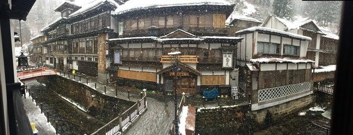 御宿やなだ屋 is one of 銀山温泉.