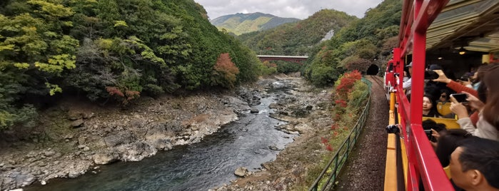 Sagano Romantic Train is one of JAPAN KYOTO.