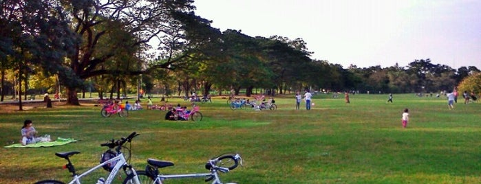 Vachirabenjatas Park (Rot Fai Park) is one of Bangkok2016.
