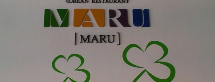 Maru Korean Restaurant is one of Tempat yang Disukai Geng.