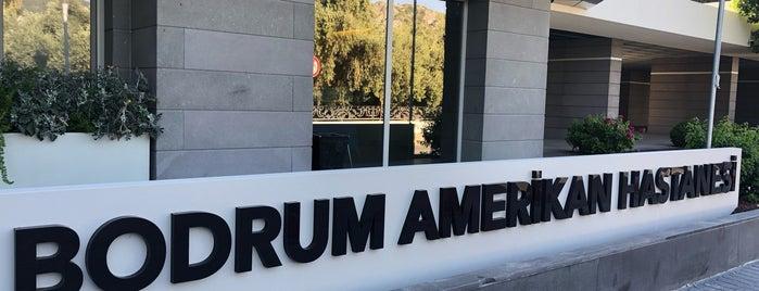 Bodrum Amerikan Hastanesi is one of baha ali'nin Beğendiği Mekanlar.