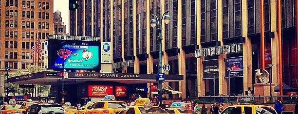 Madison Square Garden is one of Lugares donde estuve en el exterior.