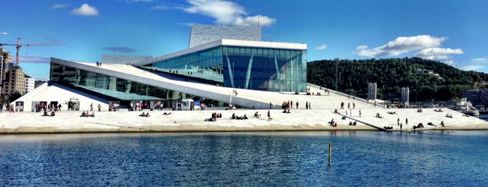 Operataket is one of Oslo touristmode.