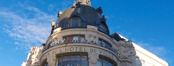 BHV Marais is one of Paris.