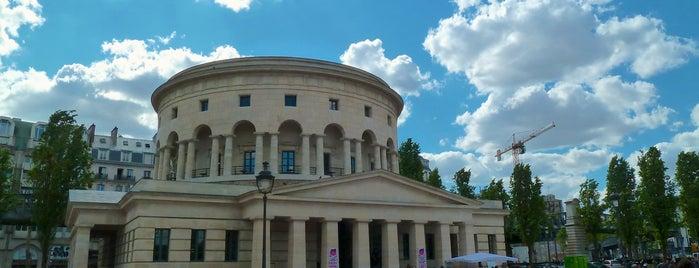 Rotonde de la Villette is one of Paris.