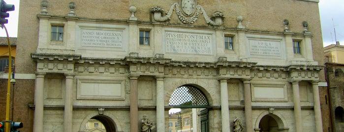 Porta del Popolo is one of Rome / Roma.