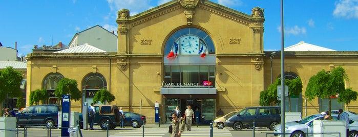 Gare SNCF de Nancy Ville is one of Follow the Orient Express — Şark Ekspresi.