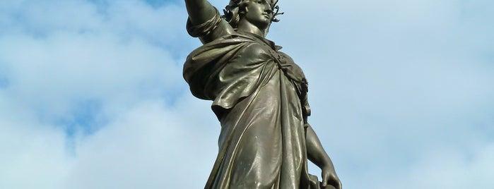 Place de la République is one of Paris.