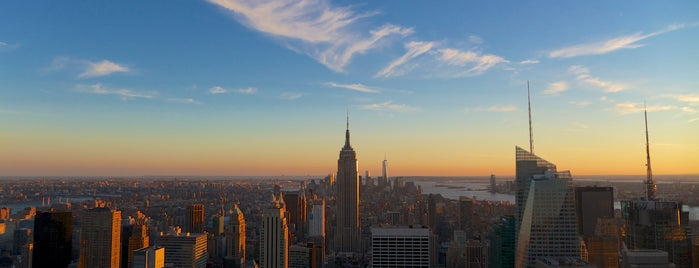 Top of the Rock Observation Deck is one of Sights in Manhattan.