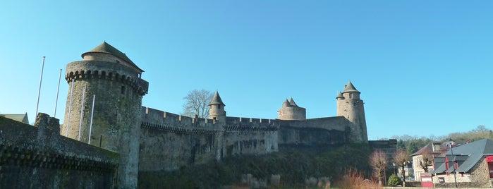 Château de Fougères is one of Châteaux de France.