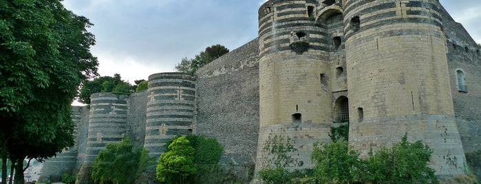 Château d'Angers is one of Centre des monuments nationaux.