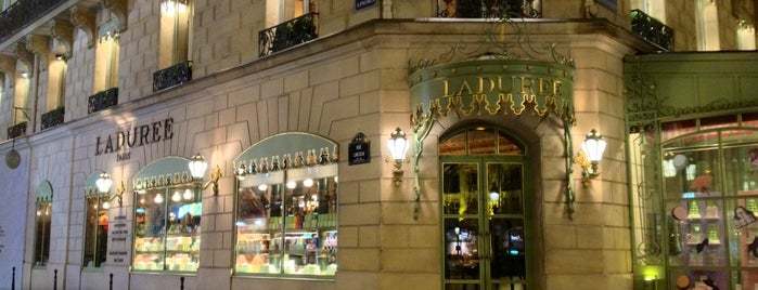 Ladurée is one of Paris gourmand, Paris gourmet.