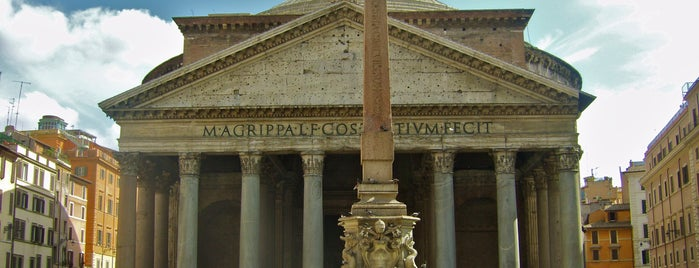 Pantheon is one of Rome / Roma.