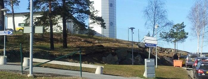 Stockholm-Bromma Airport (BMA) is one of สนามบินนานาชาติ (1).