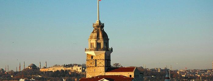 Leanderturm is one of İstanbul'un Gezilmesi Görülmesi Gereken Yerleri.