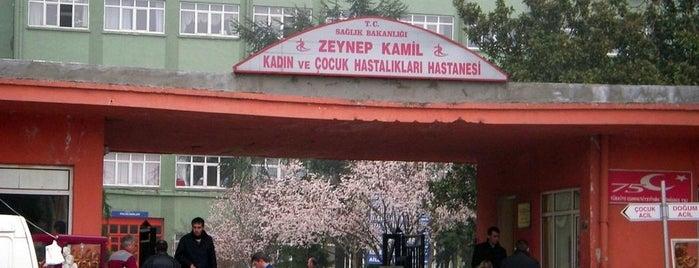Zeynep Kamil Kadın ve Çocuk Hastalıkları Eğitim ve Araştırma Hastanesi is one of İstanbul'un Gezilmesi Görülmesi Gereken Yerleri.