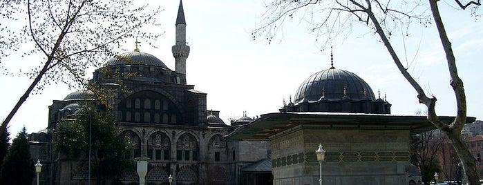 Kılıç Ali Paşa Camii is one of İstanbul'un Gezilmesi Görülmesi Gereken Yerleri.