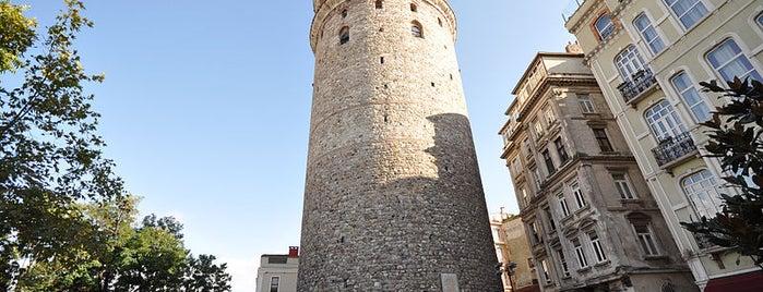 Galataturm is one of İstanbul'un Gezilmesi Görülmesi Gereken Yerleri.