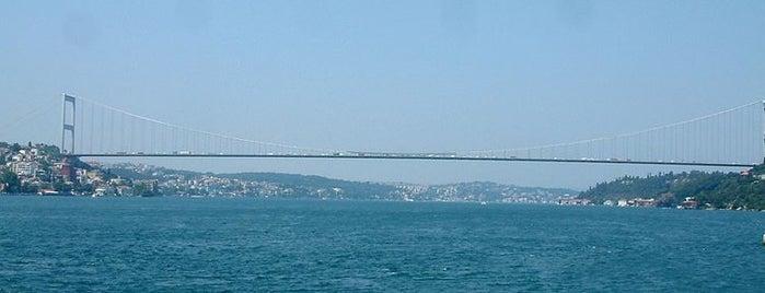 Fatih Sultan Mehmet Köprüsü is one of İstanbul'un Gezilmesi Görülmesi Gereken Yerleri.