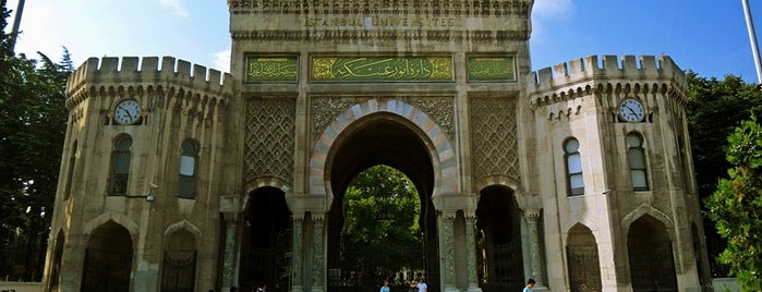 İstanbul Üniversitesi is one of İstanbul'un Gezilmesi Görülmesi Gereken Yerleri.