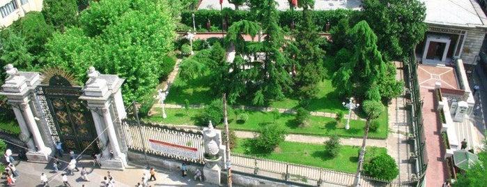 Galatasaray Lisesi is one of İstanbul'un Gezilmesi Görülmesi Gereken Yerleri.