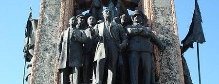 Taksim Cumhuriyet Anıtı is one of İstanbul'un Gezilmesi Görülmesi Gereken Yerleri.