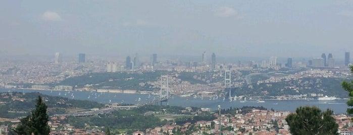 Büyük Çamlıca Tepesi is one of İstanbul'un Gezilmesi Görülmesi Gereken Yerleri.