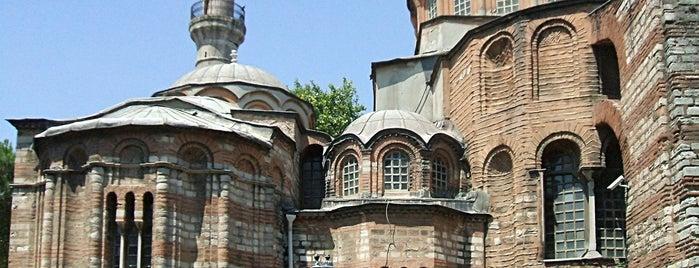 Chora Museum is one of İstanbul'un Gezilmesi Görülmesi Gereken Yerleri.