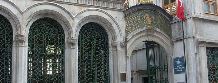 Galata Mevlevihanesi is one of İstanbul'un Gezilmesi Görülmesi Gereken Yerleri.