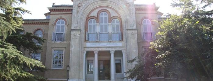Heybeliada Ruhban Okulu is one of İstanbul'un Gezilmesi Görülmesi Gereken Yerleri.