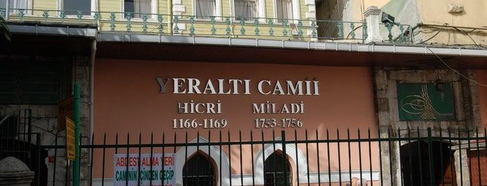 Yeraltı Camii is one of İstanbul'un Gezilmesi Görülmesi Gereken Yerleri.