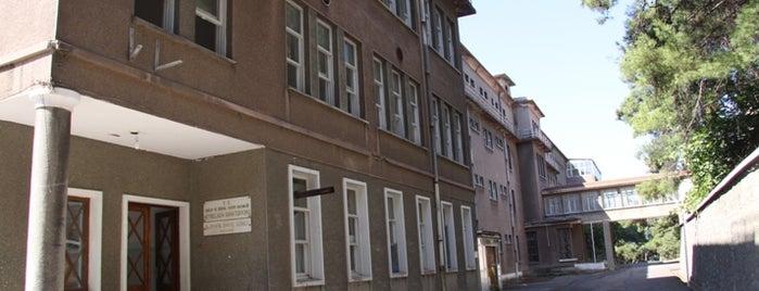 Heybeliada Sanatoryumu is one of İstanbul'un Gezilmesi Görülmesi Gereken Yerleri.