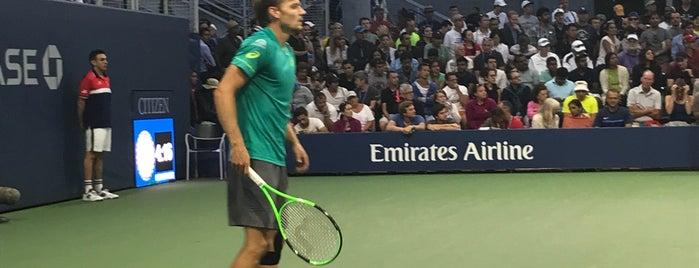 Court 5 - USTA Billie Jean King National Tennis Center is one of Stuff....