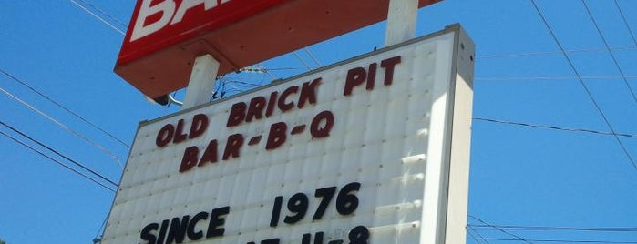 Old Brick Pit Barbecue is one of Atlanta.