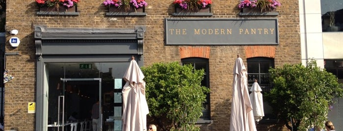 The Modern Pantry is one of London's great locations - Peter's Fav's.
