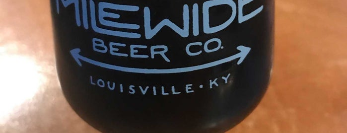 Mile Wide Beer Co. is one of Lieux qui ont plu à Crispin.