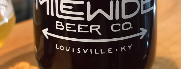 Mile Wide Beer Co. is one of Lugares favoritos de Greg.