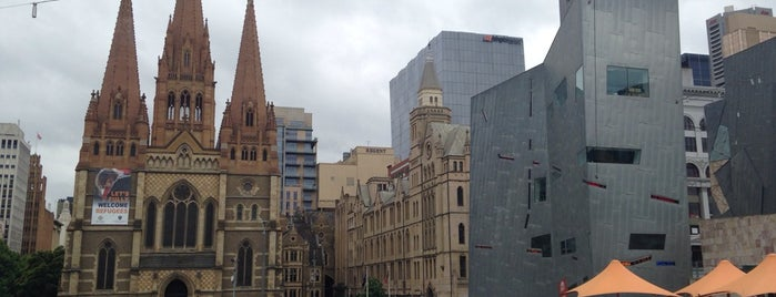 Federation Square is one of Eastern Australia Guide.