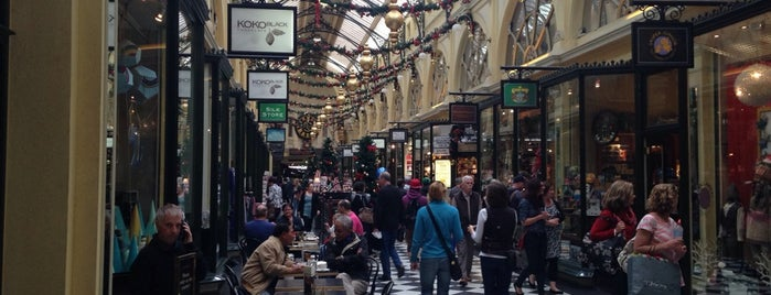The Royal Arcade is one of Eastern Australia Guide.