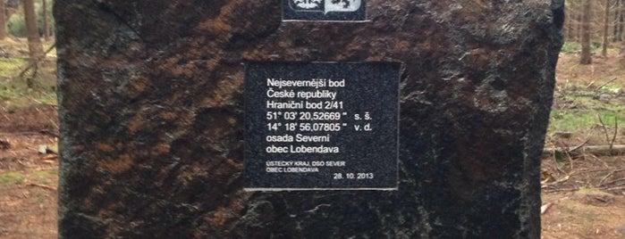 Nejsevernější bod ČR is one of Janeさんの保存済みスポット.