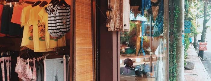 Yoga shop is one of Bali.
