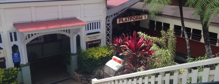 Kuranda Railway Station is one of Eastern Australia Guide.
