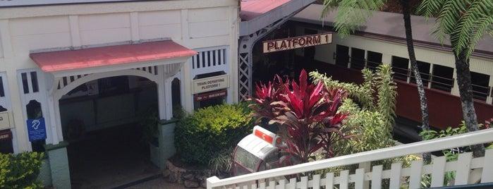 Kuranda Railway Station is one of Eastern Australia Guide.